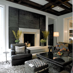contemporary living room by SemelSnow Interior Design, Inc.