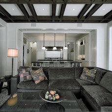 Contemporary Living Room by SemelSnow Interior Design, Inc.