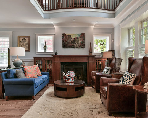 30 All-Time Favorite Craftsman Living Room Ideas & Photos | Houzz