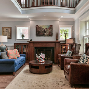 75 Transitional Living Room Design Ideas & Remodeling Pictures That ...