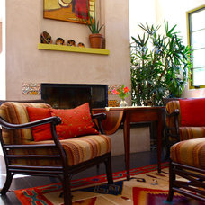 Southwestern Living Room by Shannon Malone