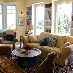 traditional living room by Shannon Malone