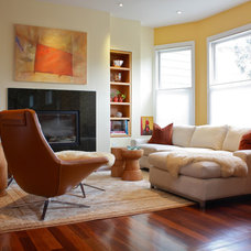 Contemporary Living Room by Shannon Malone