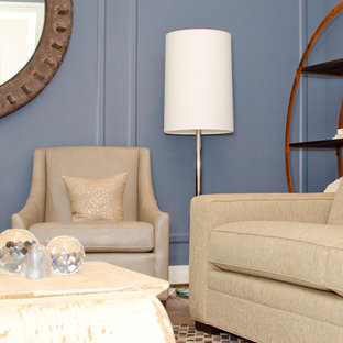Example of a transitional living room design in DC Metro