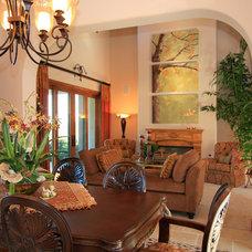 Mediterranean Living Room by Smart Interiors