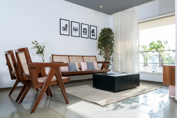 Contemporary Living Room by SML Architects