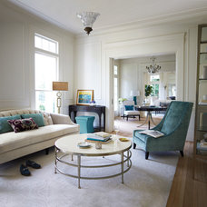 Transitional Living Room by Kleban Furniture Co. Inc.