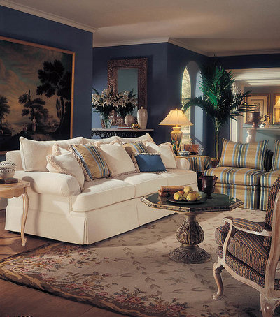 American Traditional Living Room by Furniture East Inc.