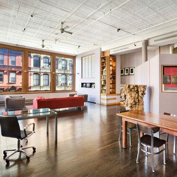 Living Room, Soho Loft, New York City