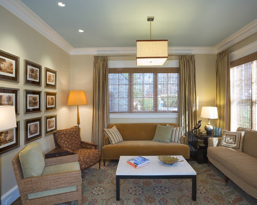 Inspiration For A Mid Sized Contemporary Formal And Enclosed Living Room  Remodel In DC Metro Part 66