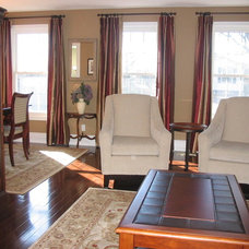 Traditional Living Room by Stephanie O'Leary, Style By Stephanie