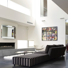 Contemporary Living Room by Steve Domoney Architecture