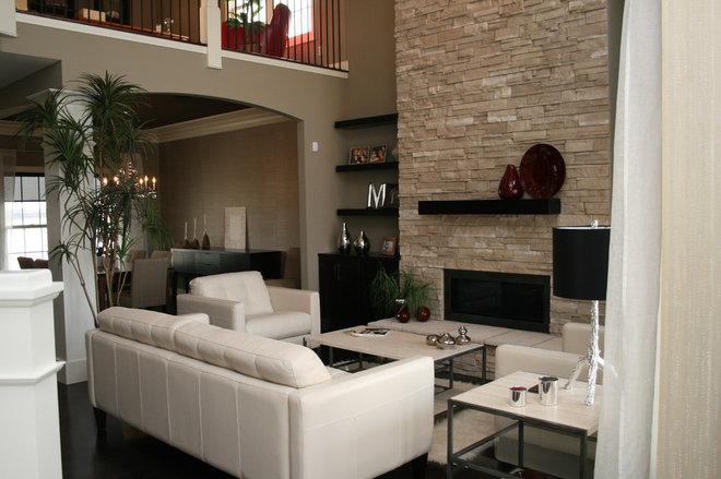 Modern Living Room by Kimberly Arnold Fletcher