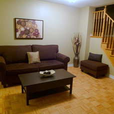Traditional Living Room by Sunlight Staging & Home Decor