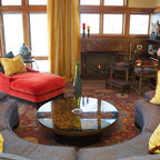mesmerizing artsy eclectic living room | Living Room - Eclectic - Living Room - Minneapolis - by ...