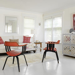 eclectic living room by Tara Seawright