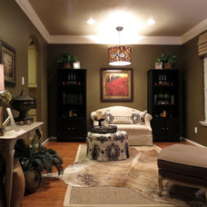 Eclectic Living Room by The Designers Niche