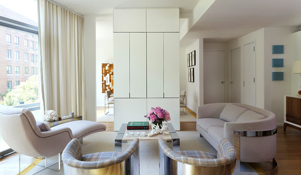 Contemporary Living Room by Luca Andrisani Architect