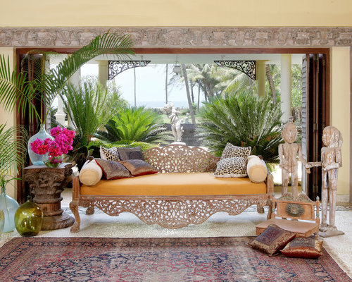 home interior design indian style. inspiration for a huge asian formal and open concept living room remodel in mumbai with yellow home interior design indian style i
