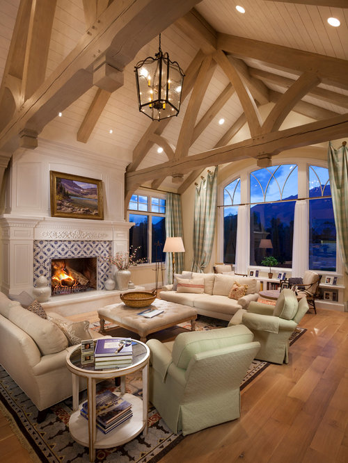 Vaulted Ceiling Beams Ideas Pictures Remodel And Decor