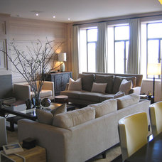 Contemporary Living Room by Thom Lindsley