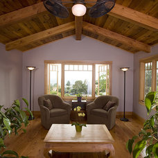 Traditional Living Room by Thompson Naylor Architects Inc