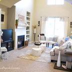 Modern Rustic Living Room Modern Living Room Salt
