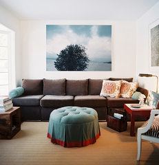 eclectic living room by TILTON FENWICK