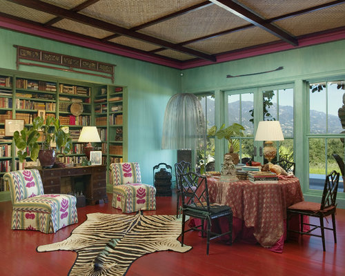 Living Room Jungle jungle-themed rooms | houzz