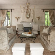Traditional Living Room by Tracery Interiors