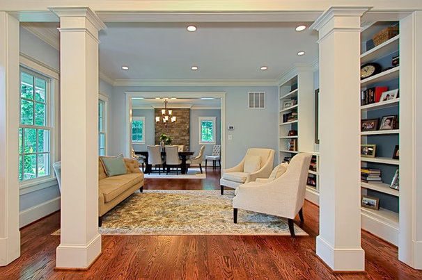 Traditional Living Room by Tradition Homes