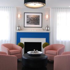 Contemporary Living Room by Troy Spurlin Interiors