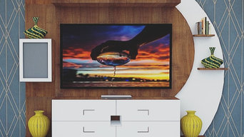 Living room tv unit