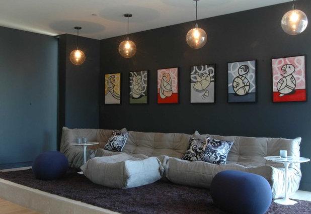 Contemporary Living Room by twenty7 design