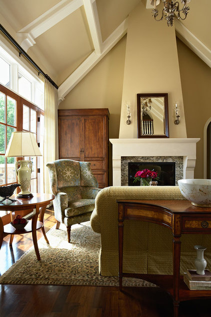 Traditional Living Room by Twist Interior Design
