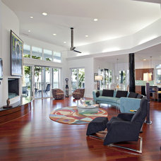 Contemporary Living Room by Tyner Construction Co Inc