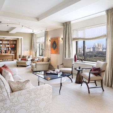 Living Room, Upper East Side Apartment, New York City