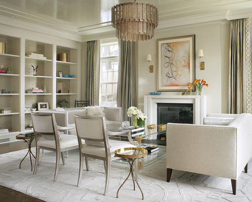 Transitional living room design ideas remodels photos for Living room 983