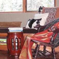 Traditional Living Room Living room vignette