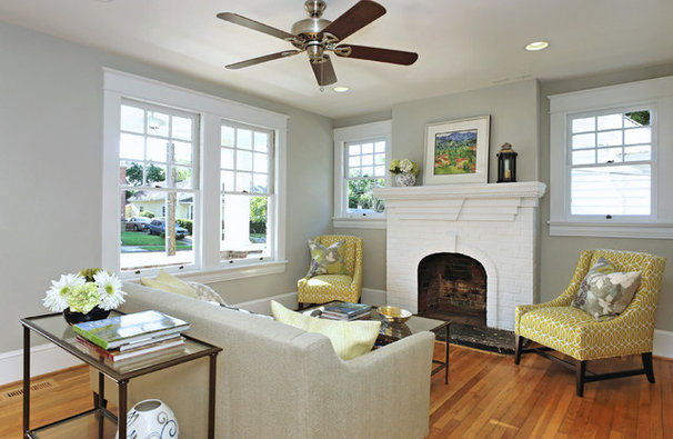 Traditional Living Room by Visual Properties, LLC