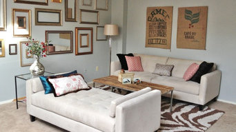 Living room w chaise