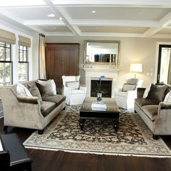 contemporary living room by Warren Home Restorations