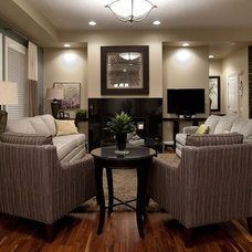 Traditional Living Room by Willow Tree Interiors