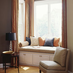 Furniture For Bay Window Area Living Room Design Ideas, Pictures ...