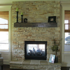 Traditional Living Room by Rebekah Schaaf, Transitional Designs KC