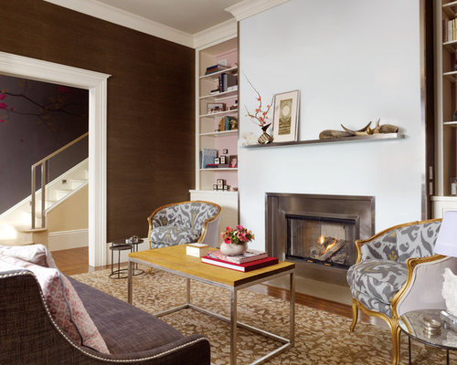Living Room With Fireplace Furniture Arrangement furniture arrangement around fireplace | houzz