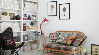 Living Room with Ercol Love Seat