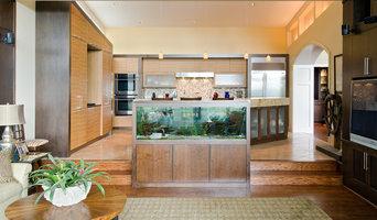 Living Room With Fishtank