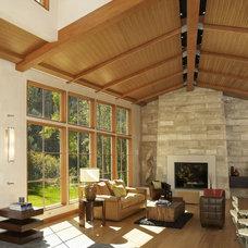 Contemporary Living Room by 186 Lighting Design Group - Gregg Mackell
