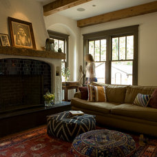 Eclectic Living Room by Marcelle Guilbeau, Interior Designer